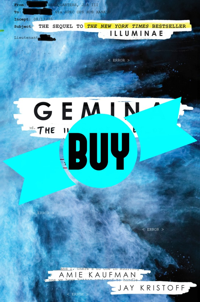 'Gemina' by Amie Kaufman and Jay Kristoff